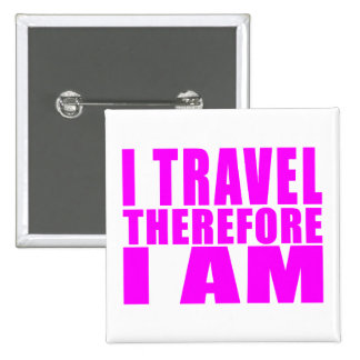 El viajar de los chicas Viajo por lo tanto yo Pin