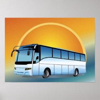 El viajar del viaje del transporte del FreeVector- Póster