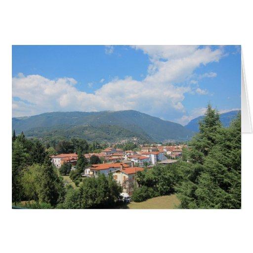 El viajar en Italia septentrional Tarjeta De Felicitación