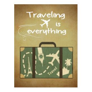 El viajar es todo postal