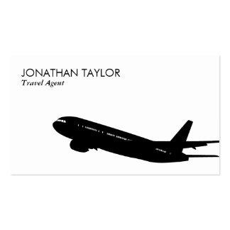 El viajar tarjetas de visita