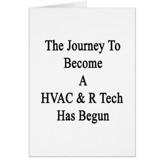 El viaje a convertirse en una tecnología de la tarjeta de felicitación
