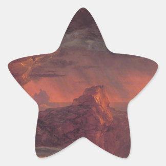 El viaje de la vida: Edad viril por el col de Pegatina En Forma De Estrella