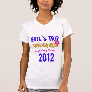 El viaje del chica de Vegas Playera