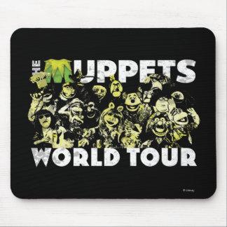 El viaje del mundo de los Muppets Alfombrillas De Ratones