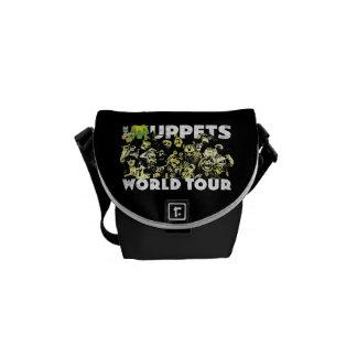 El viaje del mundo de los Muppets Bolsas De Mensajeria