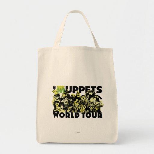 El viaje del mundo de los Muppets - luz Bolsa Tela Para La Compra