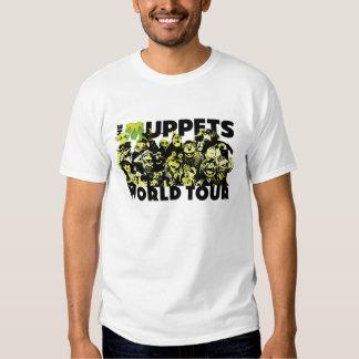 El viaje del mundo de los Muppets - luz Camisas