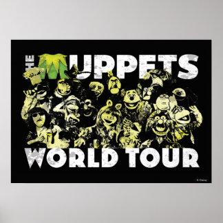 El viaje del mundo de los Muppets Póster