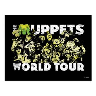 El viaje del mundo de los Muppets Postal