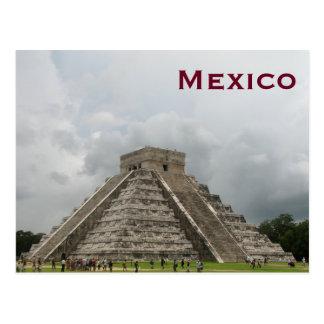 El viaje del turismo del vintage de México añade Postal