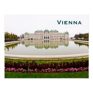 El viaje del turismo del vintage de Viena añade Postal