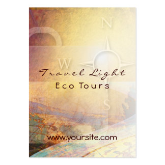 El viaje Eco ligero viaja a la tarjeta de visita
