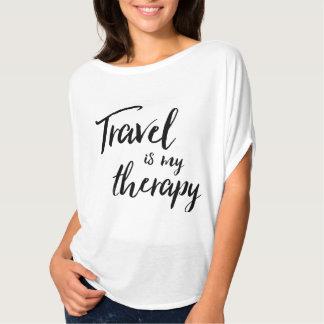 El viaje es mi camiseta de la terapia