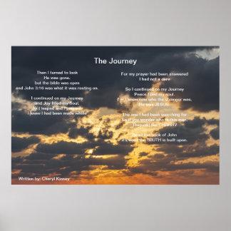 El viaje escrito cerca: Cheryl Kinney Poster
