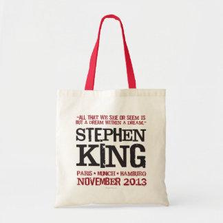 El viaje euro de Stephen King Bolsa Tela Barata