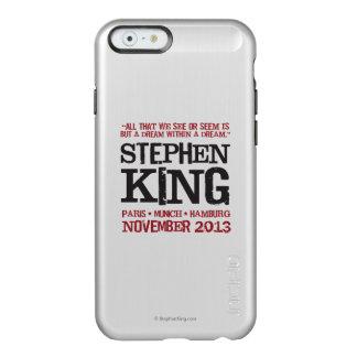 El viaje euro de Stephen King Funda Para iPhone 6 Plus Incipio Feather Shine