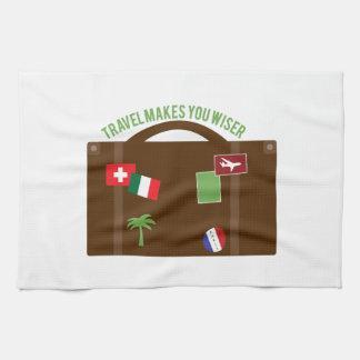 El viaje hace más sabio toallas