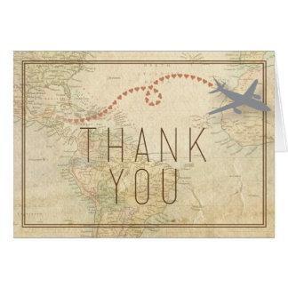 El viaje le agradece cardar tarjeta de felicitación