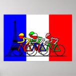 El viaje llega en París Posters