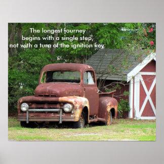 El viaje más largo - poster