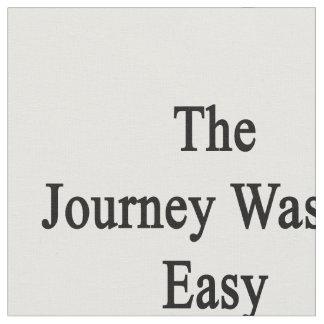 El viaje no era fácil pero ahora soy trombón telas
