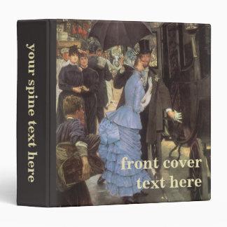 """El viajero (aka dama de honor) por James Tissot Carpeta 1 1/2"""""""