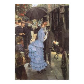 El viajero (aka dama de honor) por James Tissot Invitación