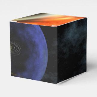 El viajero aplasta vista de la Sistema Solar Caja Para Regalos