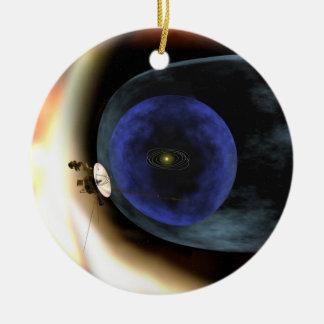 El viajero aplasta vista de la Sistema Solar Ornamentos Para Reyes Magos
