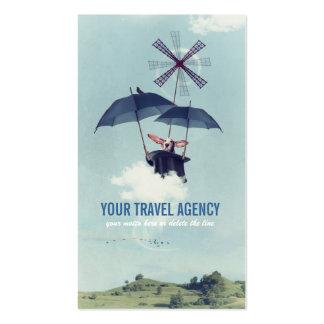 El viajero de lujo tarjetas de visita