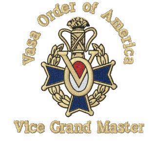 El vice gran maestro, lo modifica para requisitos  polo bordado