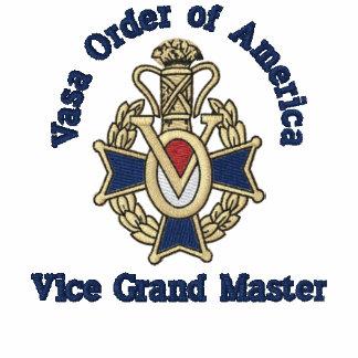 El vice gran maestro, lo modifica para requisitos  camiseta polo bordada