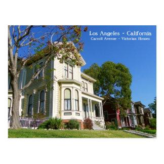 ¡El Victorian de Los Ángeles contiene la postal! Tarjeta Postal