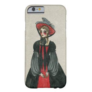 El Victorian del vintage inspiró a la señora, Funda De iPhone 6 Barely There
