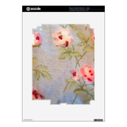 El victorian elegante lamentable del vintage flora iPad 2 calcomanía