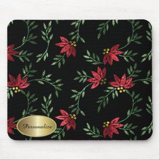 El Victorian moderno el | floral personaliza Tapete De Ratones