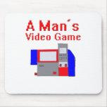 El videojuego del hombre tapete de ratón