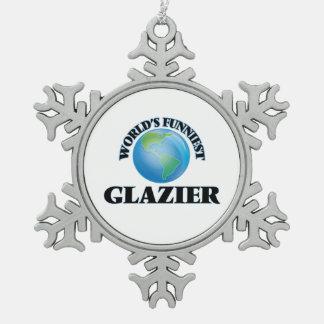 El vidriero más divertido del mundo adornos