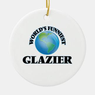 El vidriero más divertido del mundo ornato