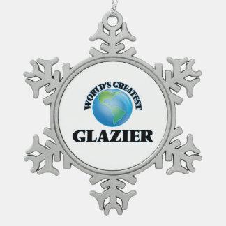 El vidriero más grande del mundo adorno