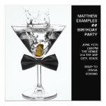 El vidrio de Martini sirve a cualquier fiesta de Comunicado