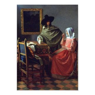 El vidrio de vino de Juan Vermeer Anuncio