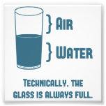 El vidrio es técnico siempre lleno