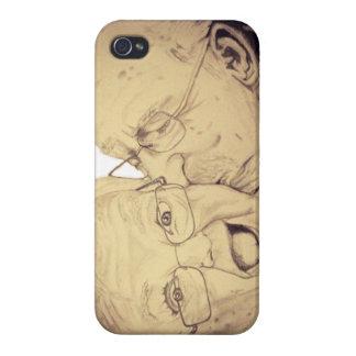 El viejo amor de los pares es para siempre caso (I iPhone 4 Fundas