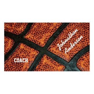 El viejo baloncesto retro dedicó al coche plantilla de tarjeta personal