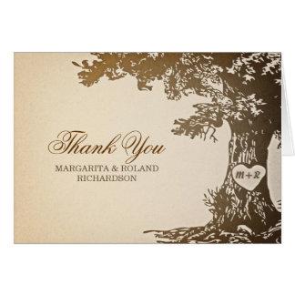 el viejo boda del roble le agradece las tarjetas