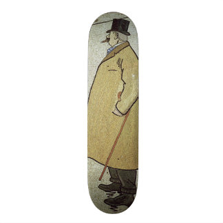El viejo caminante, c.1900 tabla de patinar