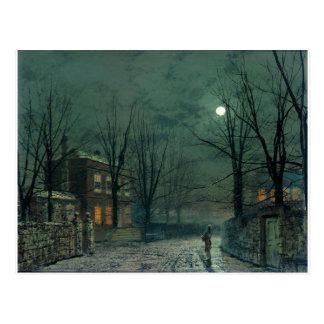 El viejo Pasillo bajo claro de luna Juan Atkinson Tarjetas Postales
