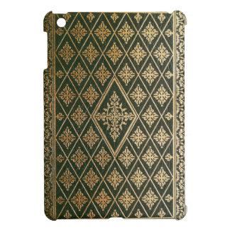 El viejo verde de cuero y el oro doraron la cubier iPad mini coberturas